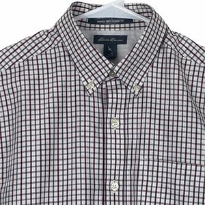 Eddie Bauer Wrinkle Free Classic Fit Cotton Small